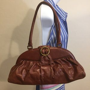HOBO International Leather Shoulder Bag Purse
